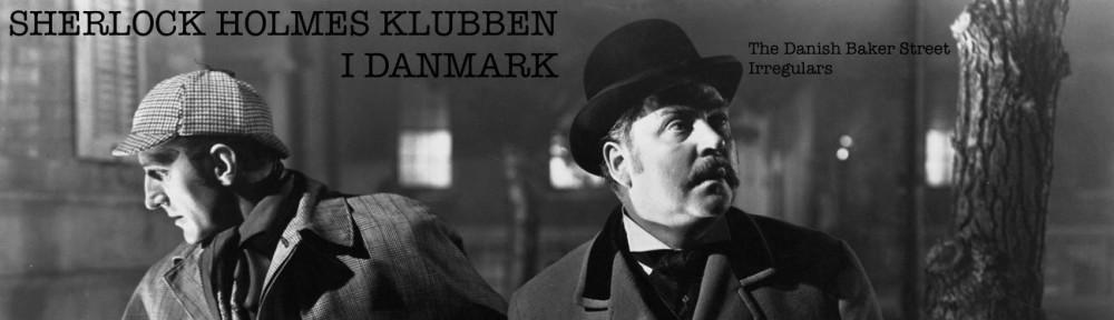 SHERLOCK HOLMES KLUBBEN I DANMARK